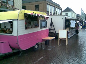 De pannenkoekenbus van Gijs Groenteman en Marcel van Roosmalen